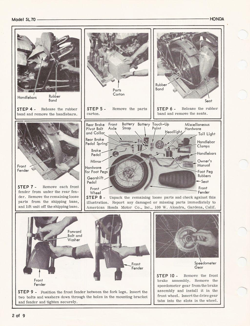 honda sl70 wiring diagram wiring diagrams cheap Honda XL 250 1994 Carb
